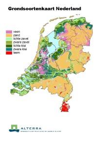 Grondsoortenkaart Nederland
