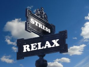 stress relax straatbordje